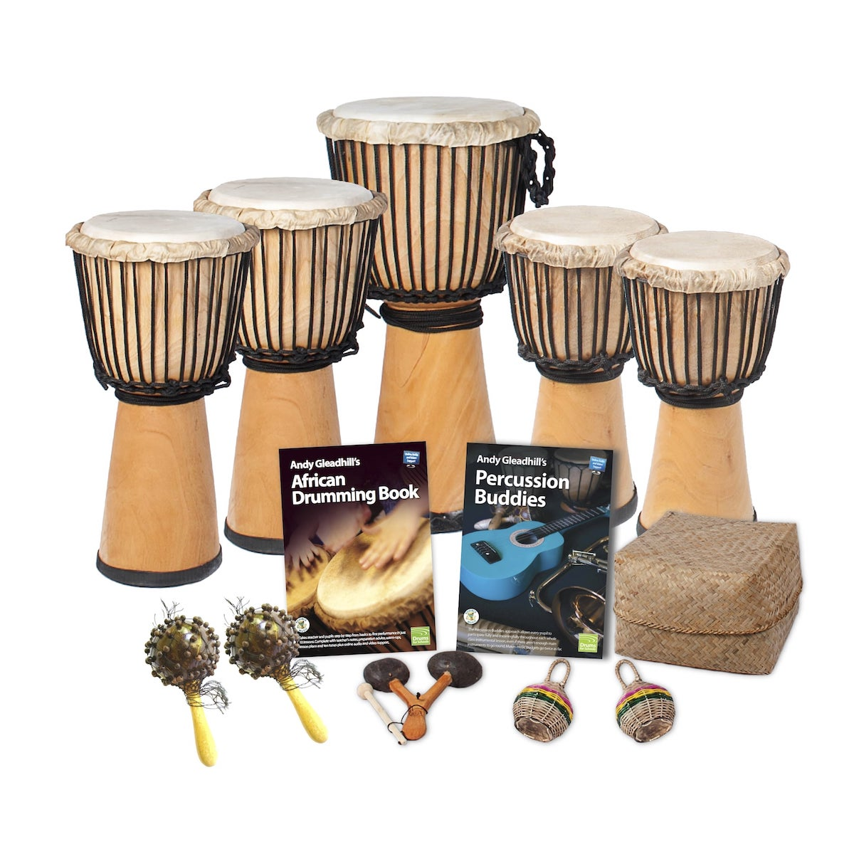 African Drumming – Primary – 10 Player Class Pack – Buddies