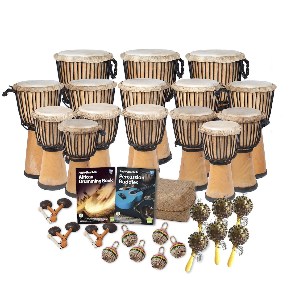 African Drumming – Primary – 30 Player Class Pack – Buddies