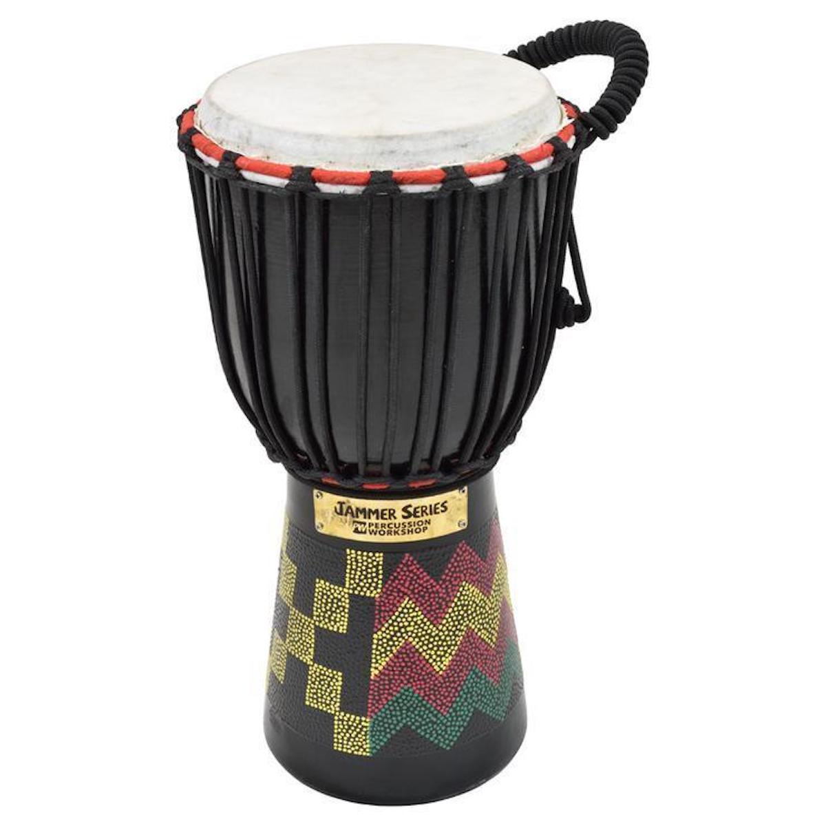 "Percussion Workshop Jammer Djembe, 6"" Head (various designs)"