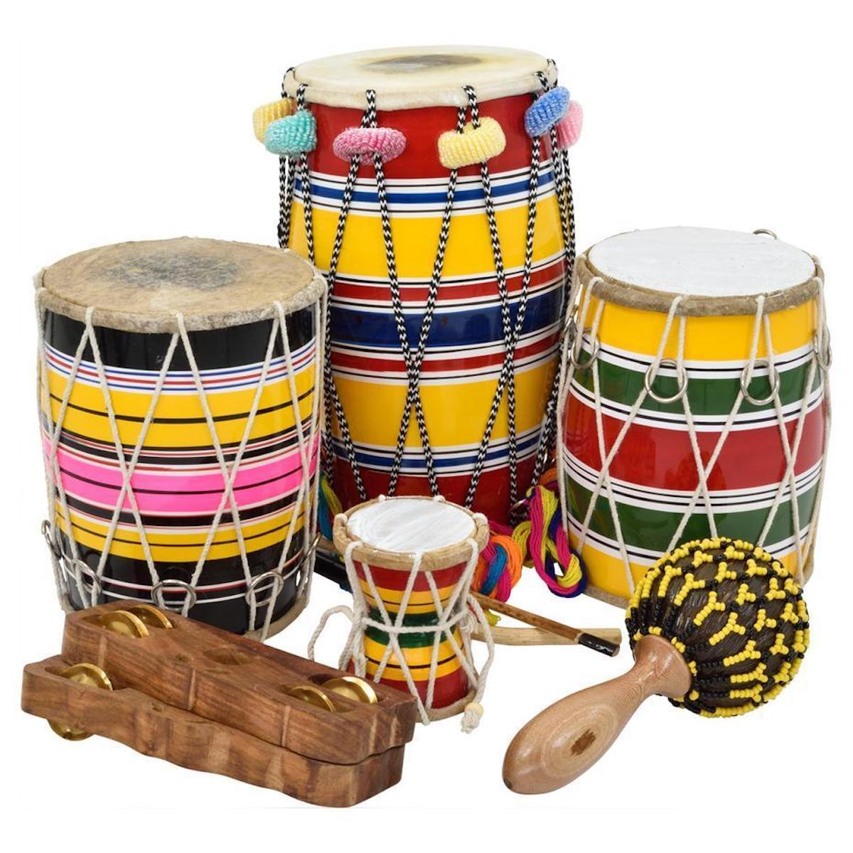 Percussion Workshop Indian Pack