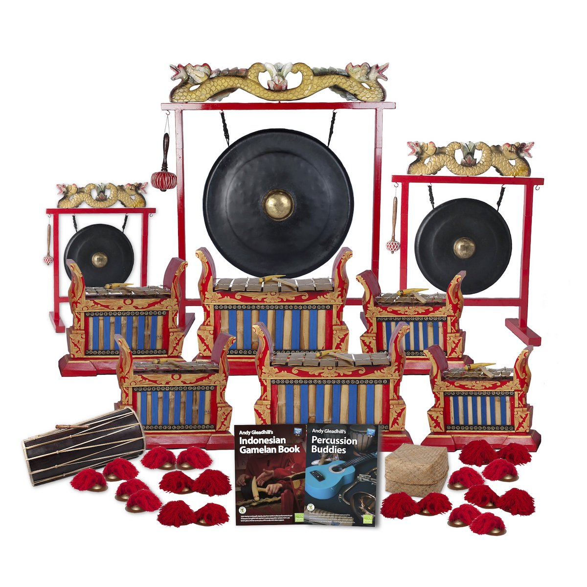 Indonesian Gamelan Premium 20 Player Class Pack – Buddies