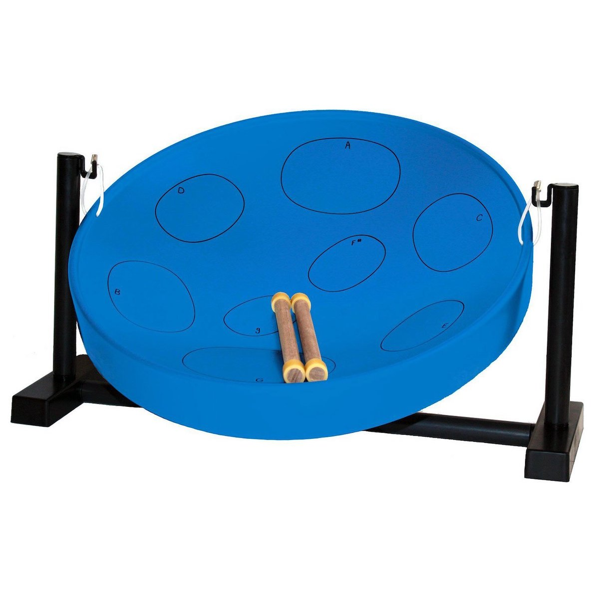 Jumbie Jam Table Top Steel Pan - Various Colours