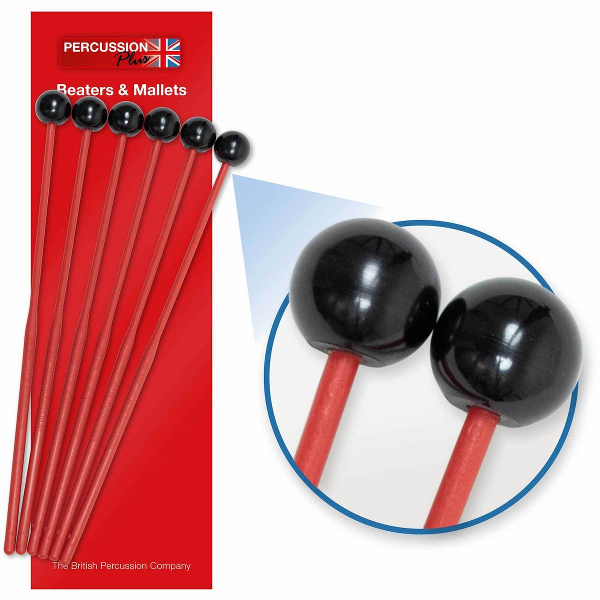 Percussion Plus Glockenspiel Beaters - Pack of 6