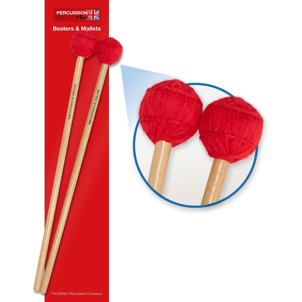 Percussion Plus Pair of Mallets - Medium