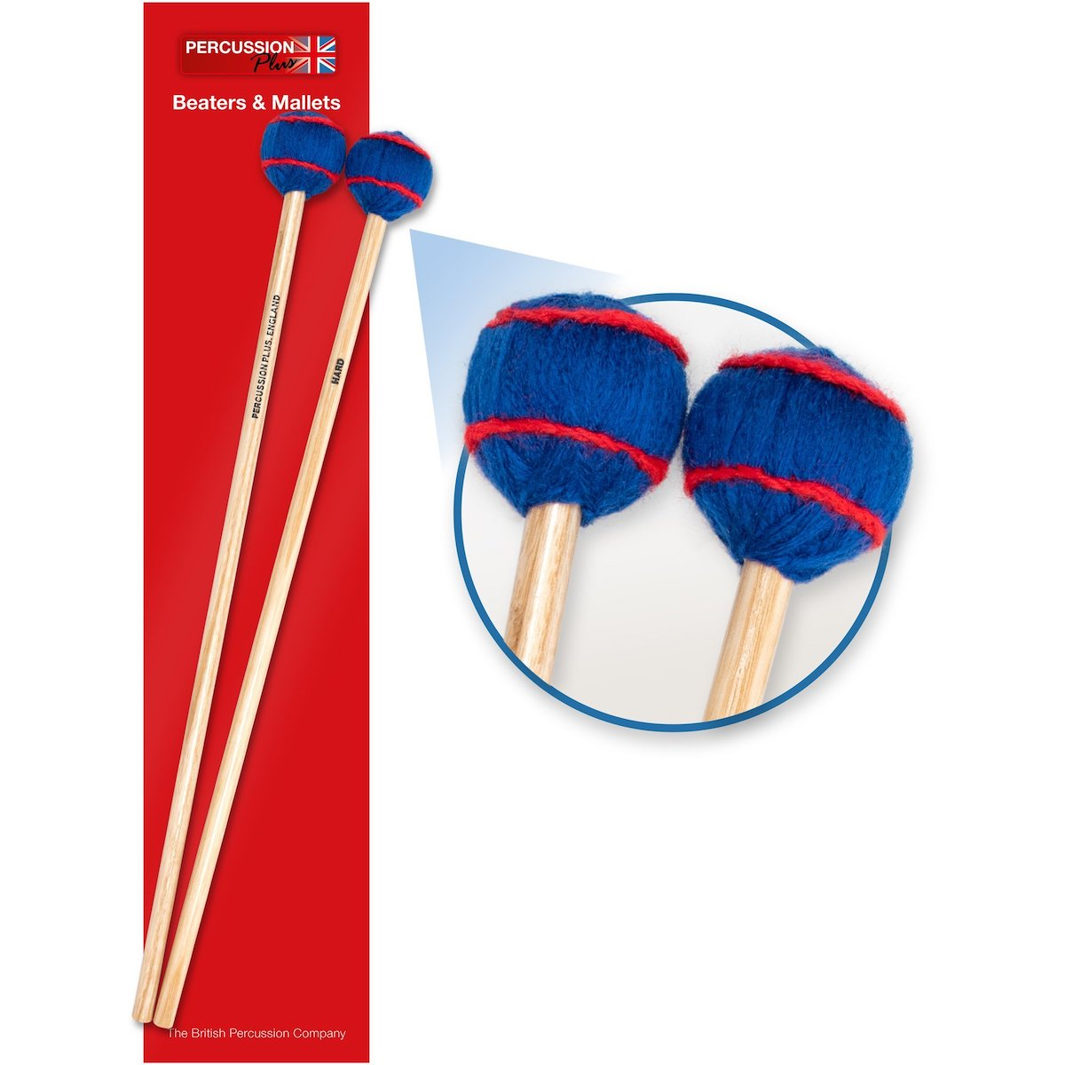 Percussion Plus Pair of Mallets - Hard