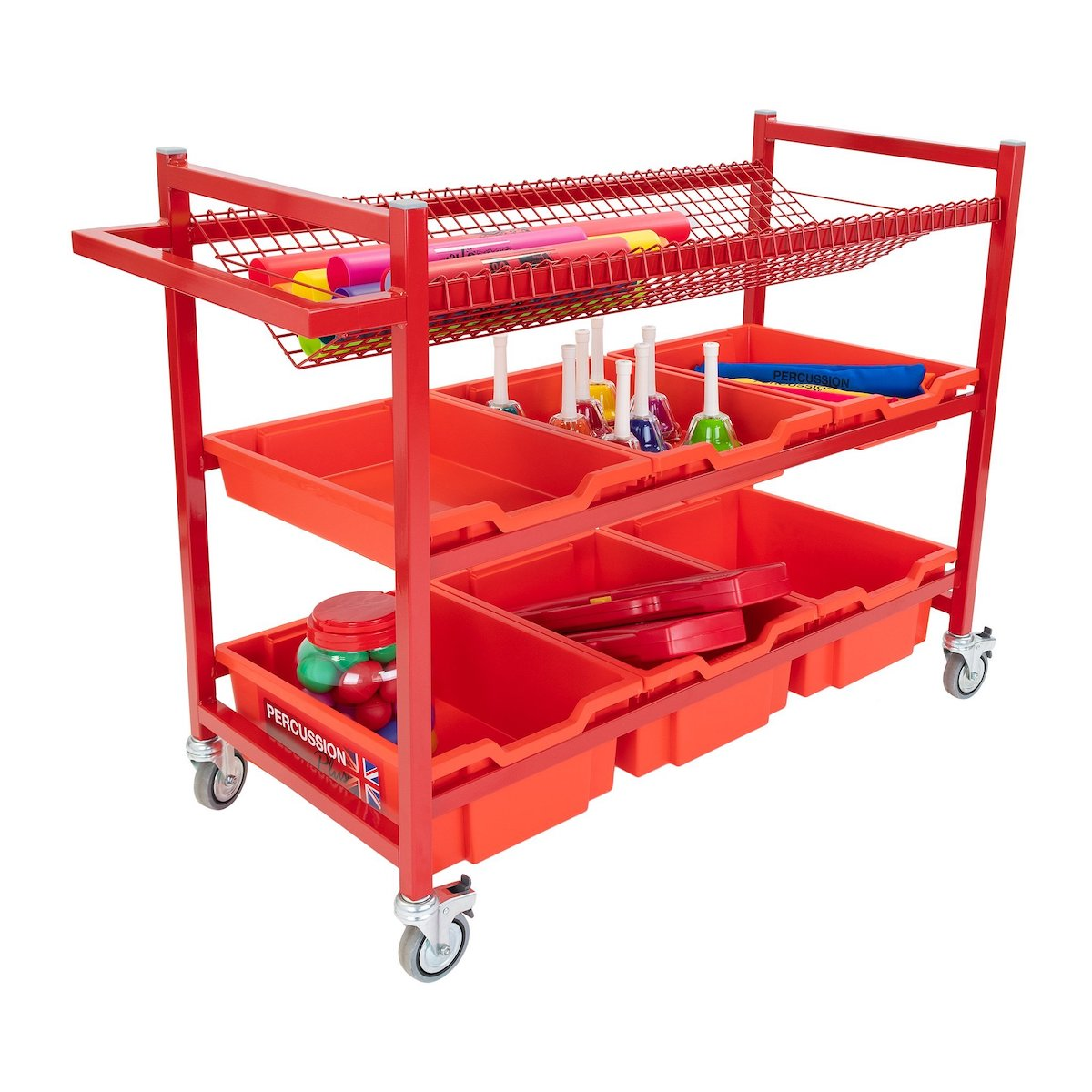 Percussion Plus Mobile Instrument Trolley