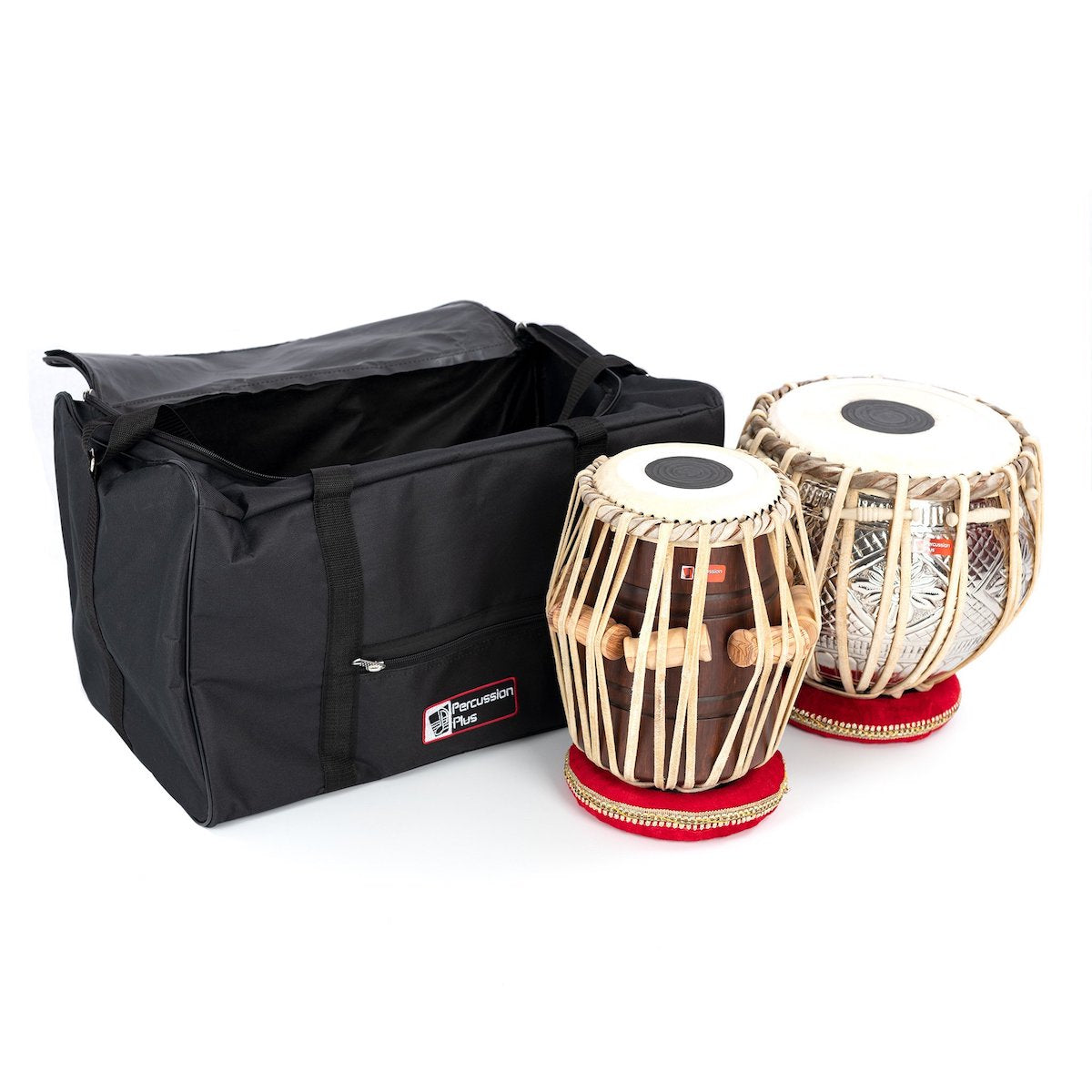 Percussion Plus Tabla Drum Pair with bag
