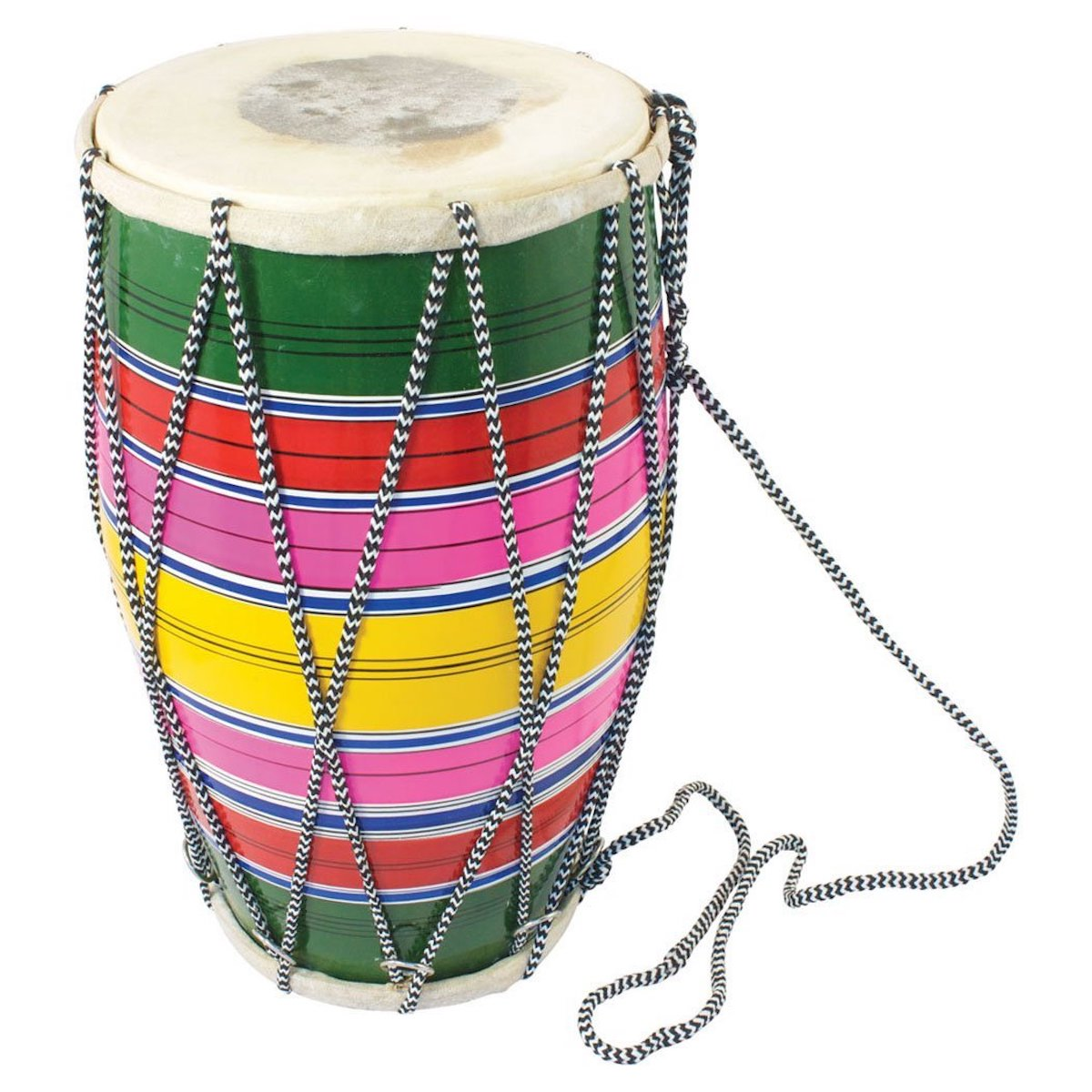Percussion Plus Indian Dholak with rope tension