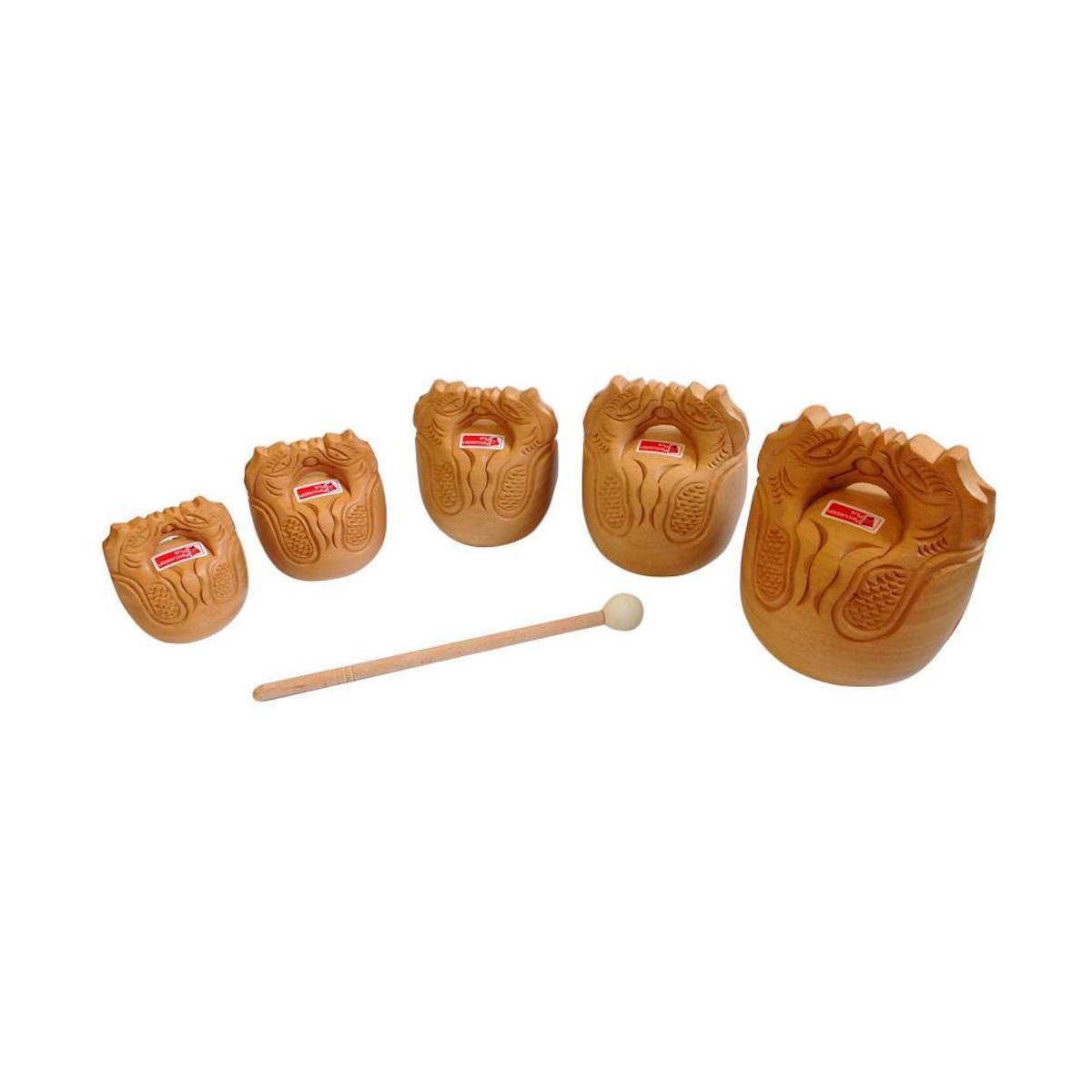 Percussion Plus Temple Blocks - Set of 5