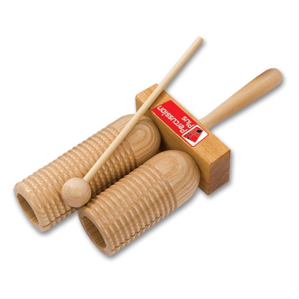 Percussion Plus Double Wooden Agogo