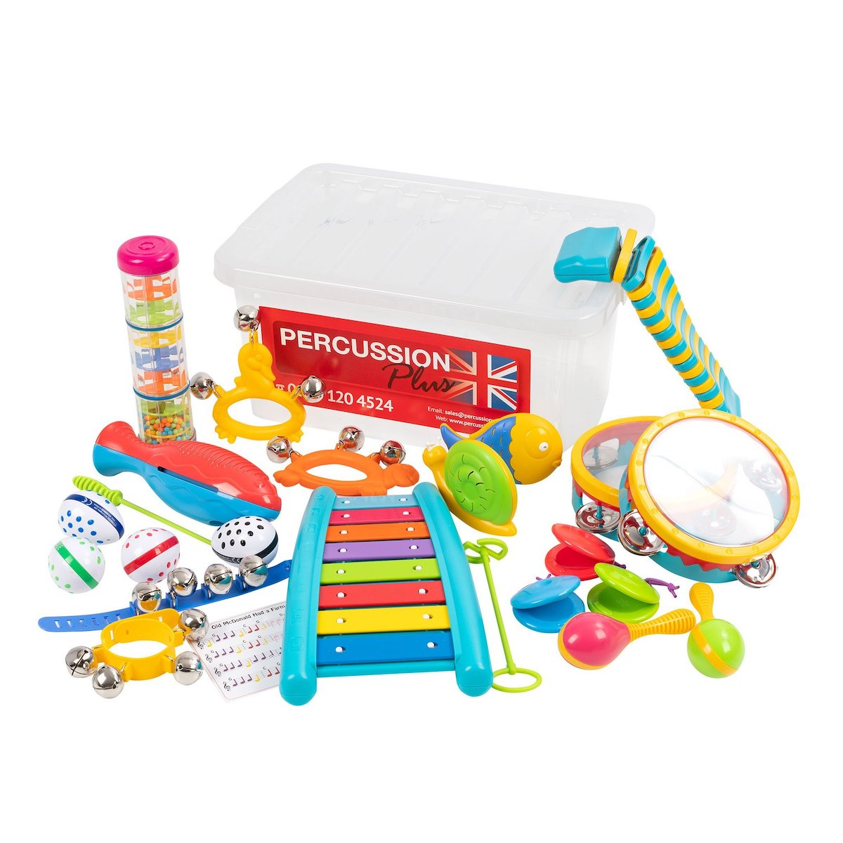 Percussion Plus Small Hands Classroom Pack