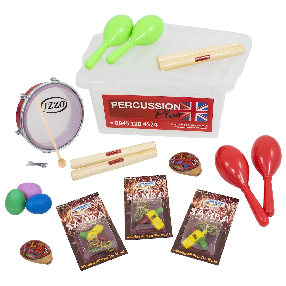 Percussion Plus Latin American Percussion Pack