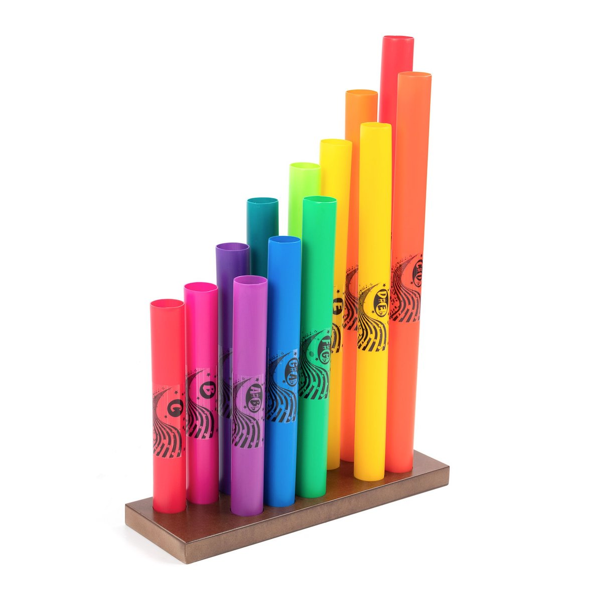 Wak-a-Tubes Stand - holds up to 13 tubes