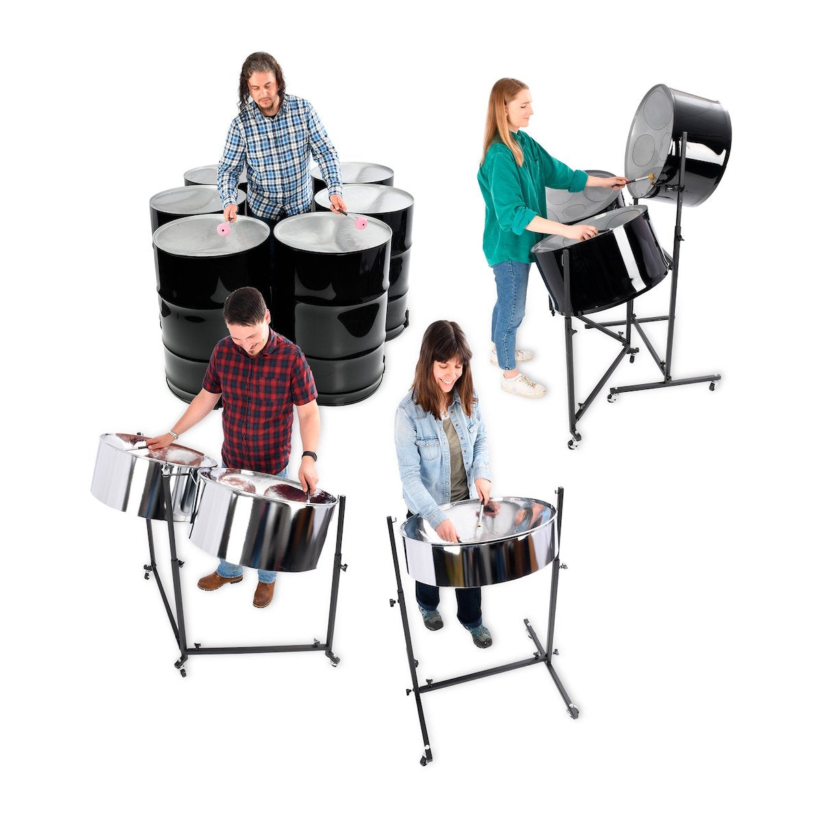 Percussion Plus Import Series Steel Pan Class Band Pack