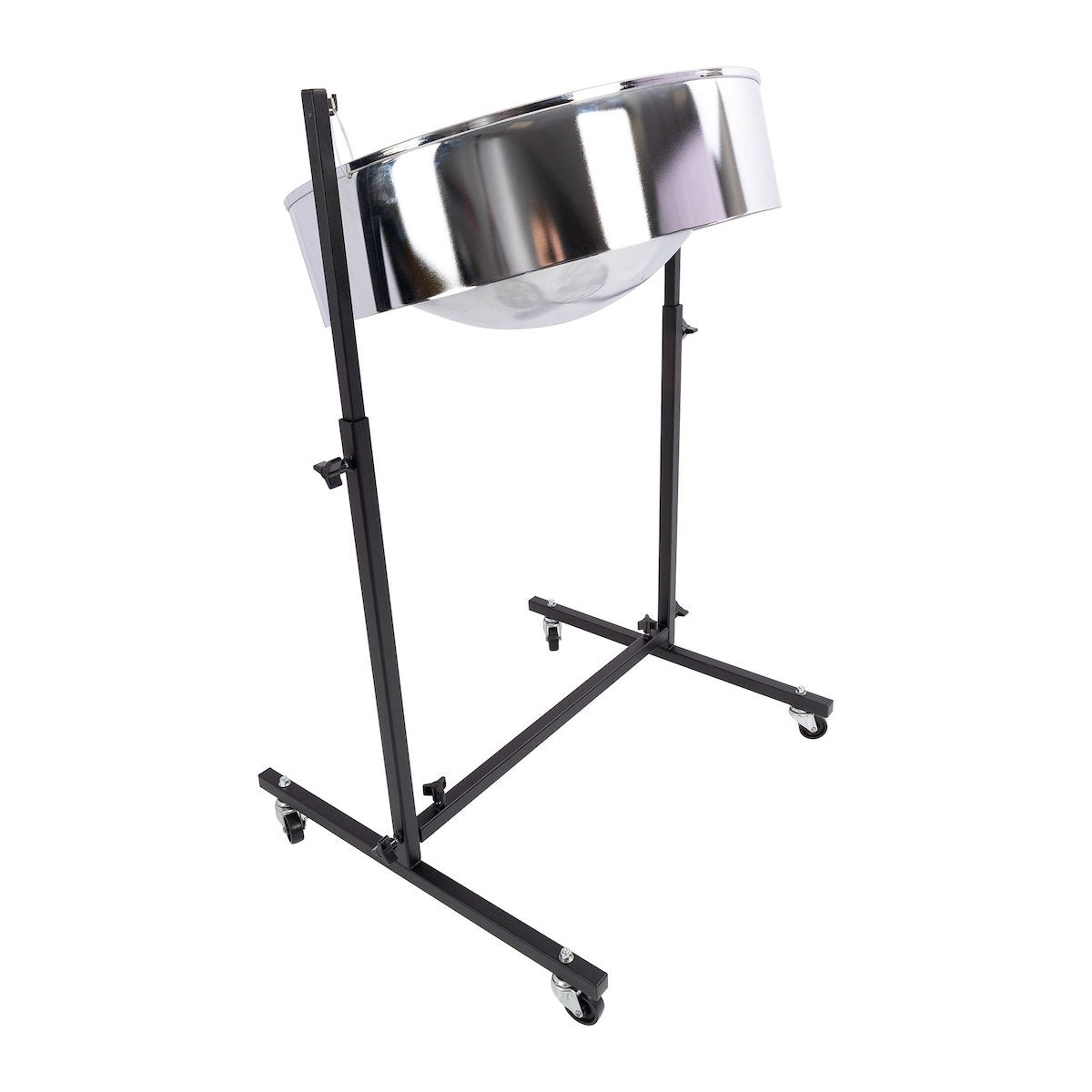 Percussion Plus Import Series Lead Steel Pan in chrome finish