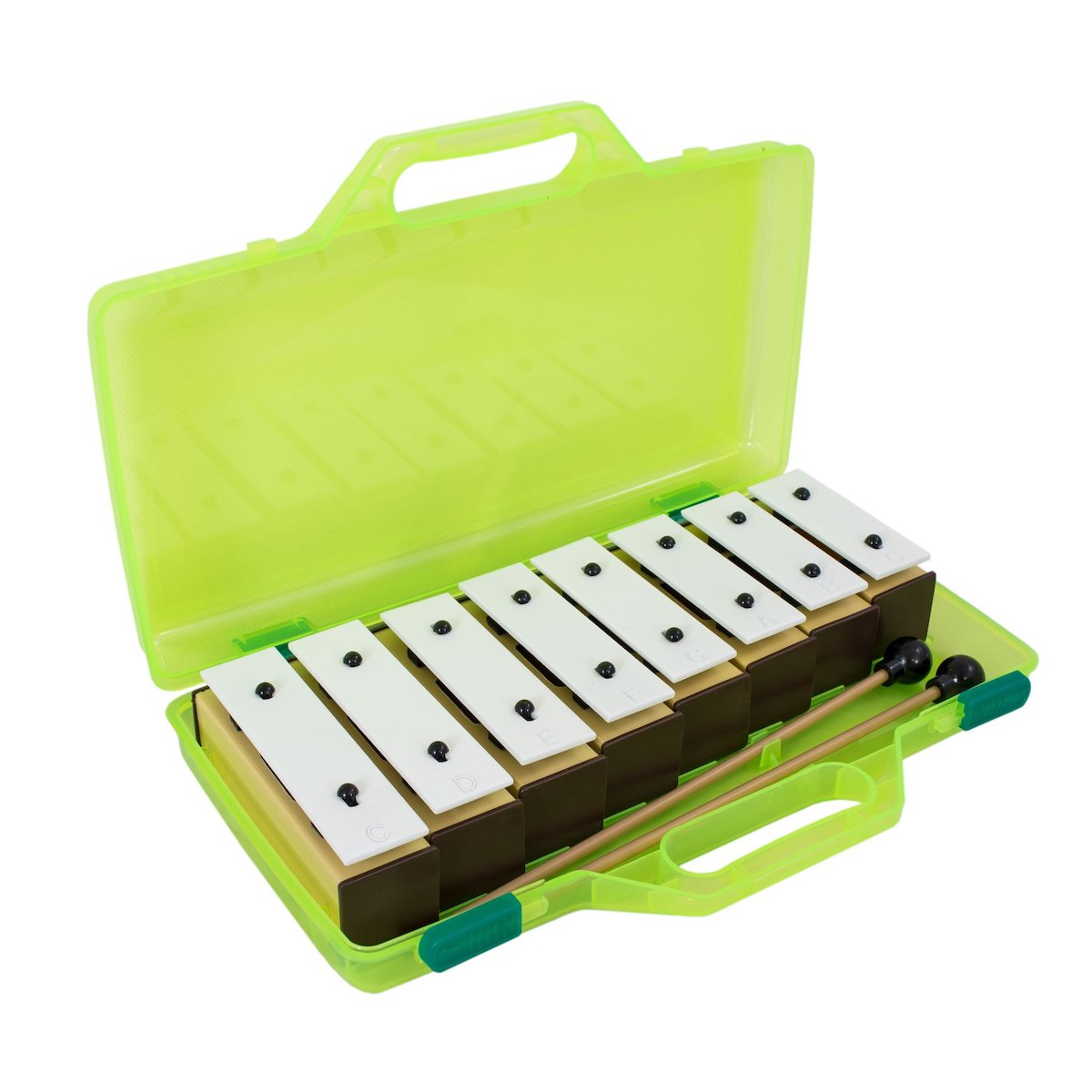 Percussion Plus Chime Bars with beaters & case