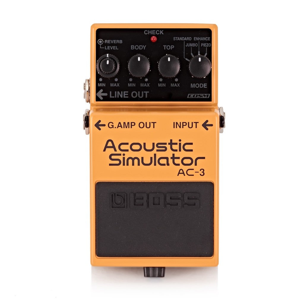 Boss Acoustic Pedals