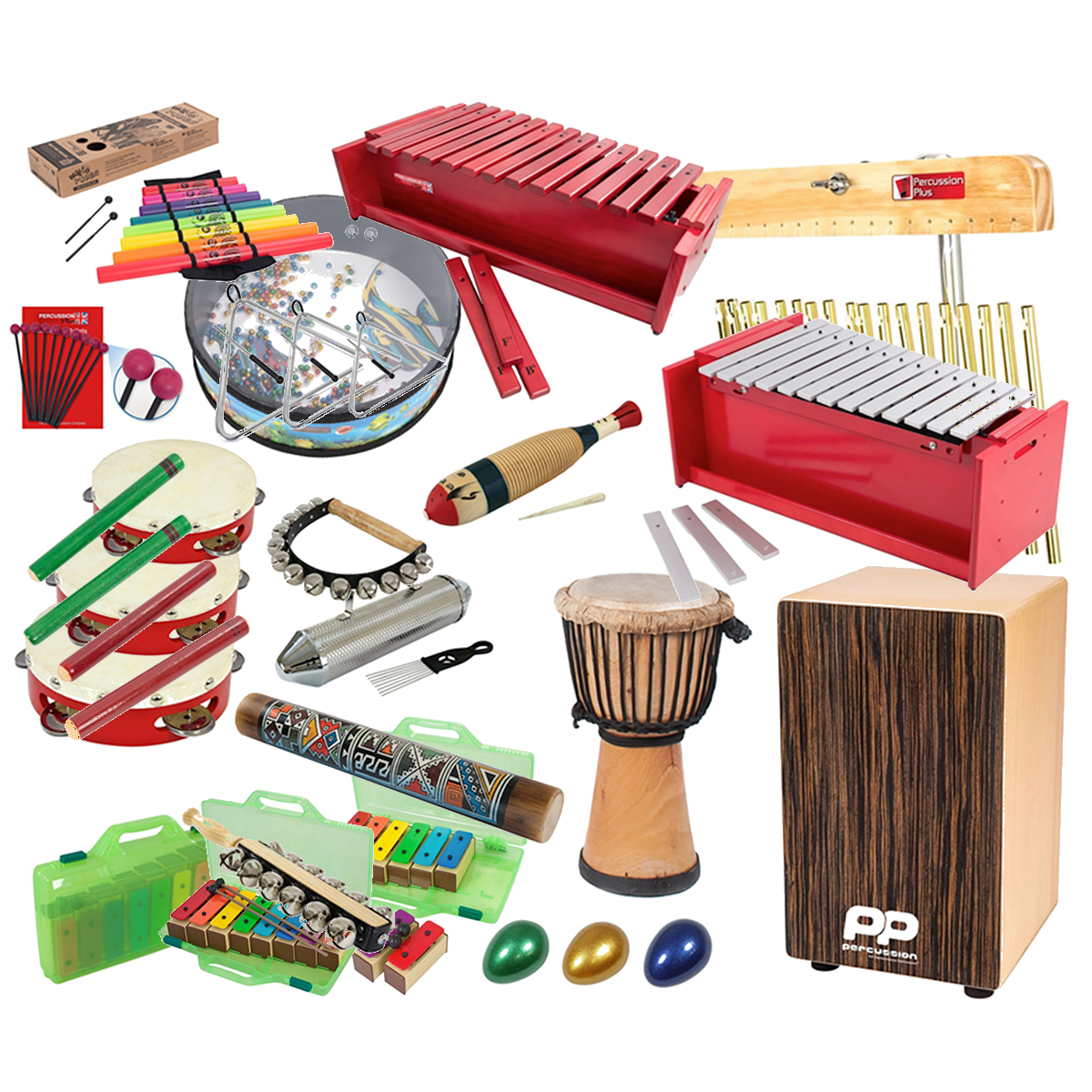 Music Education Solutions Classroom Percussion Pack
