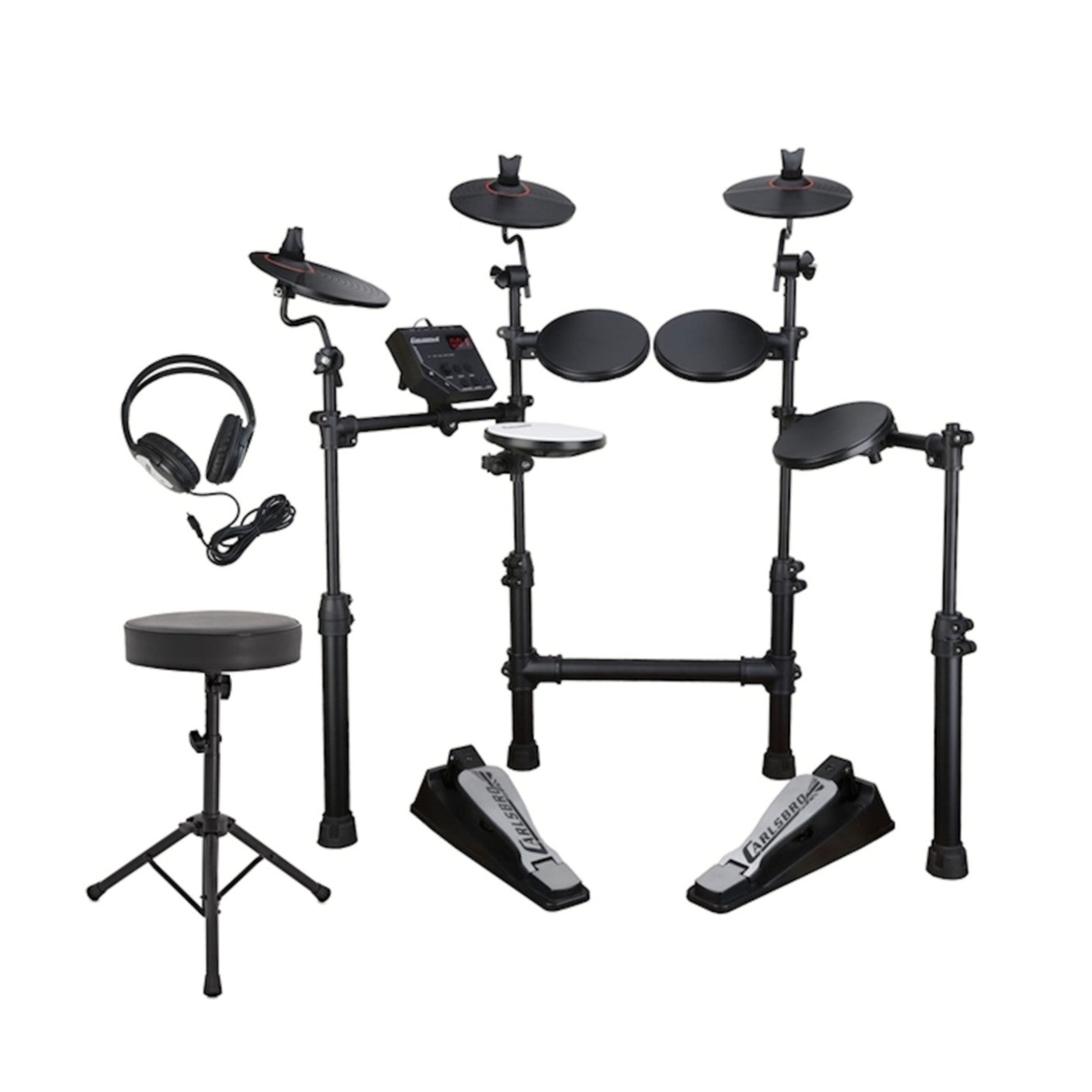 Carlsbro CSD100 Drum Kit Bundle