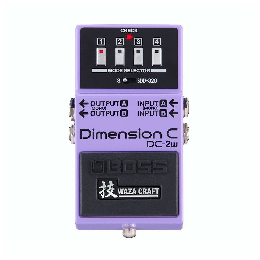 Boss Pitch & Modulation Pedals