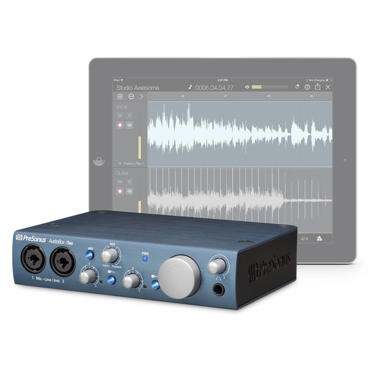 AudioBox iTwo: The USB/iPad Audio Interface for Mobile Producers