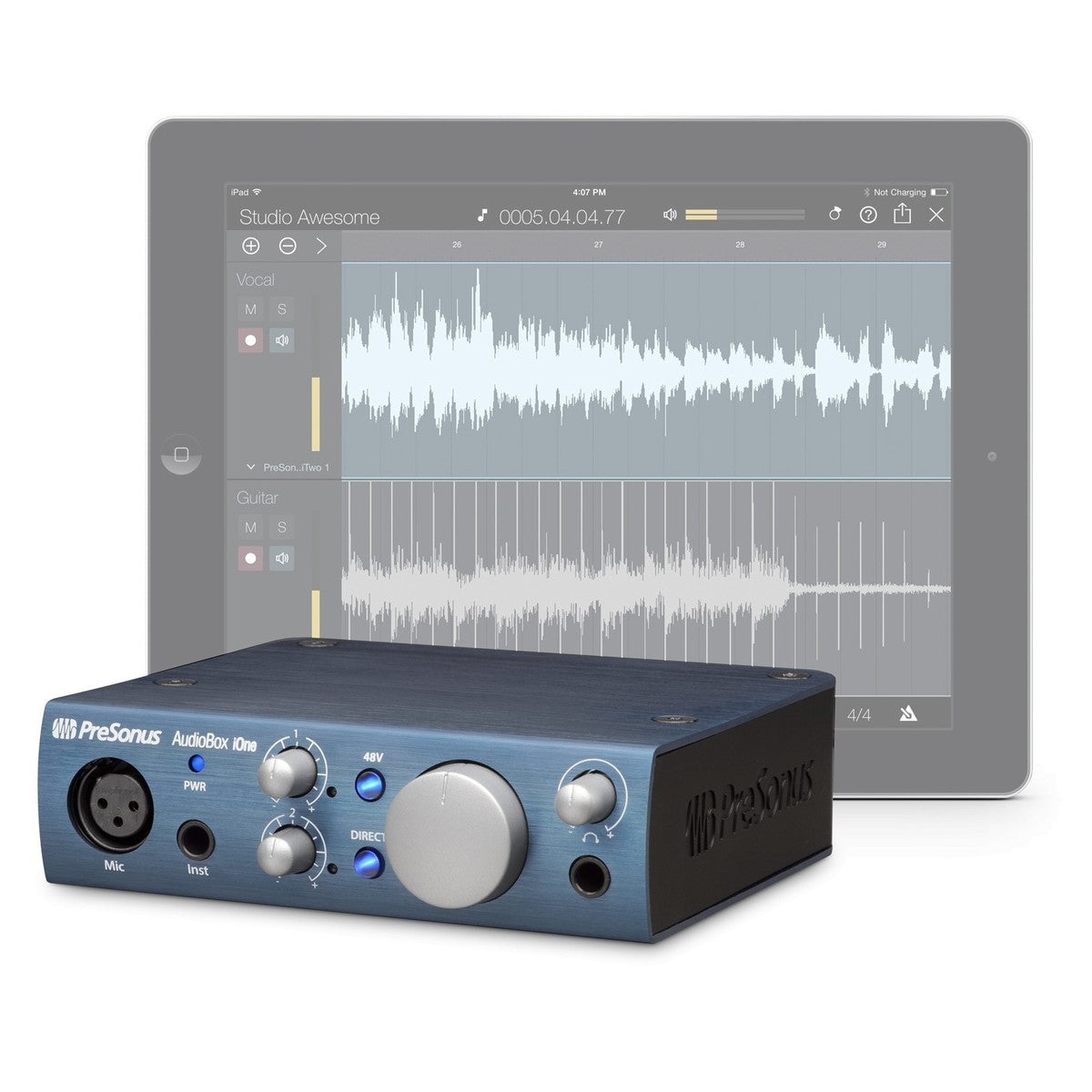 PreSonus AudioBox iOne: The USB/iPad Audio Interface for Guitarists and Songwriters
