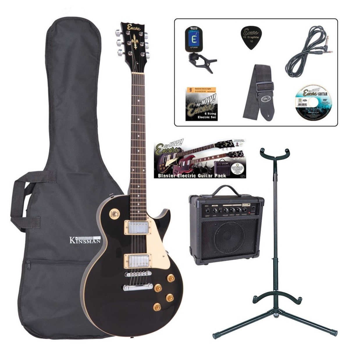 Encore E99 Electric Guitar Outfit (various colours)