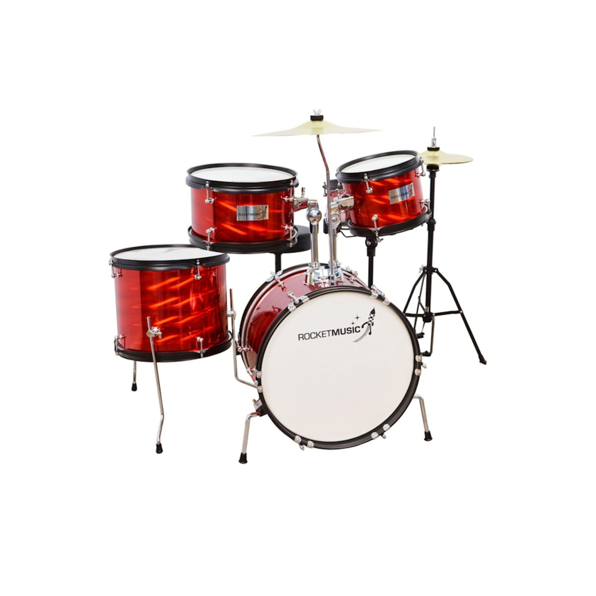 Rocket 5 Piece Junior Drum Kit