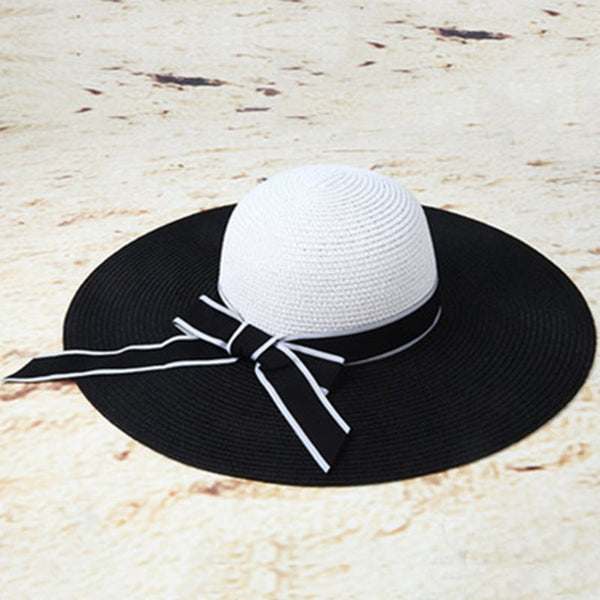 Sun Hat Bowknot Straw Plaited Article Fall Hats