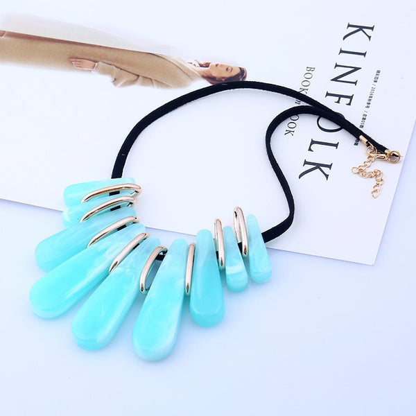 Pendant Necklace Geometric Female Necklaces