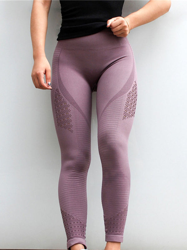 Breathable Solid Nylon Tennis Female Full Length Pants