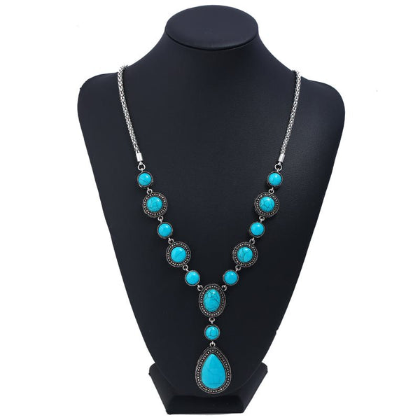 Pendant Necklace E-Plating Water Drop Female Necklaces