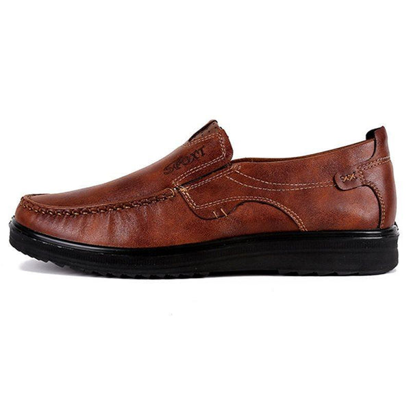 Low-Cut Upper Letter Slip-On Round Toe Thin Shoes