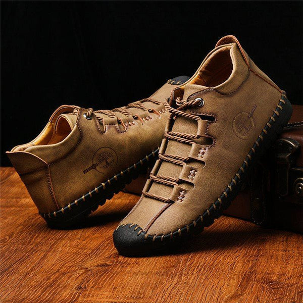 Lace-Up Color Block Low-Cut Upper Round Toe Thin Shoes