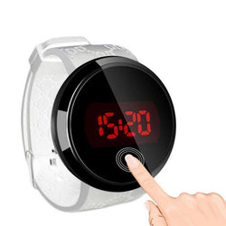 Round Luminous Digital Watches
