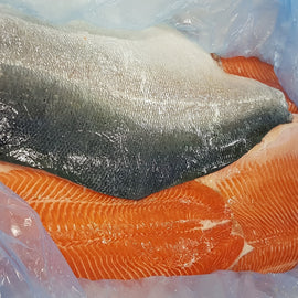 Air-Flown Fresh Salmon Trout Fillet/空运新鲜鳟鱼柳 - Fish-Girl.com