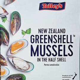 New Zealand Half Shell Green Mussels/新西兰青蚝 - Fish-Girl.com