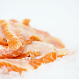 Norwegian Salmon Belly Strip/挪威三文鱼肚条 - Fish-Girl.com