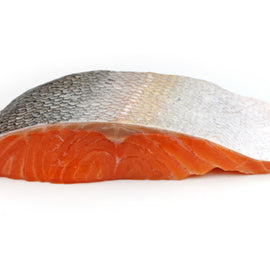 Norwegian Salmon Steak (Skin On)/挪威三文鱼排 - Fish-Girl.com
