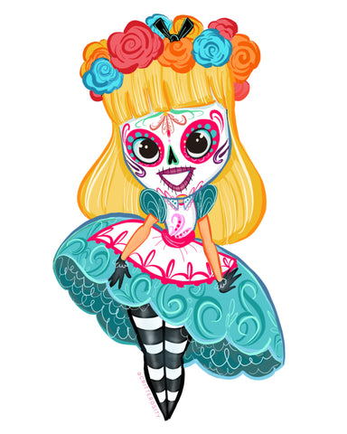 Day of the Dead Alice Design