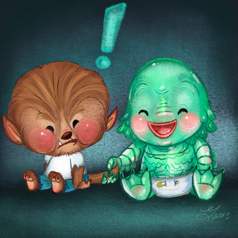 Monster Babies Design