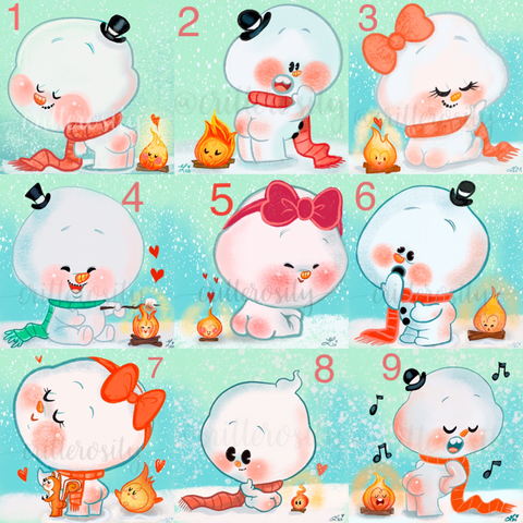 Snow Buns Design