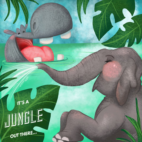 It's a Jungle Out There Design