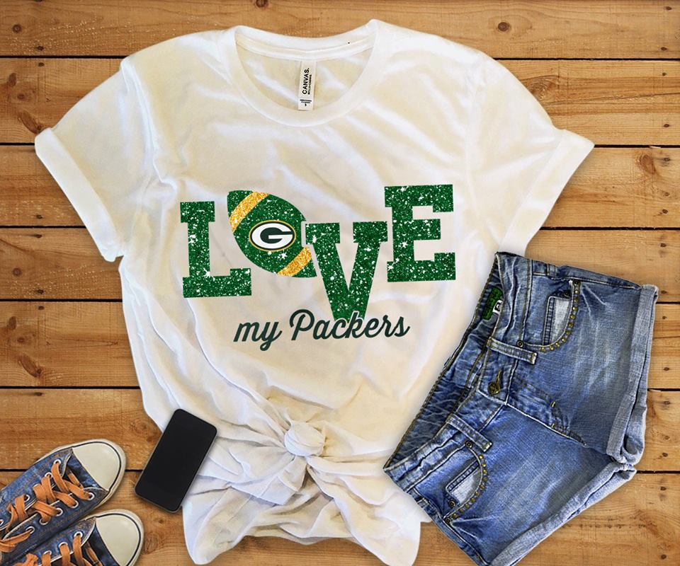 love my packers tee