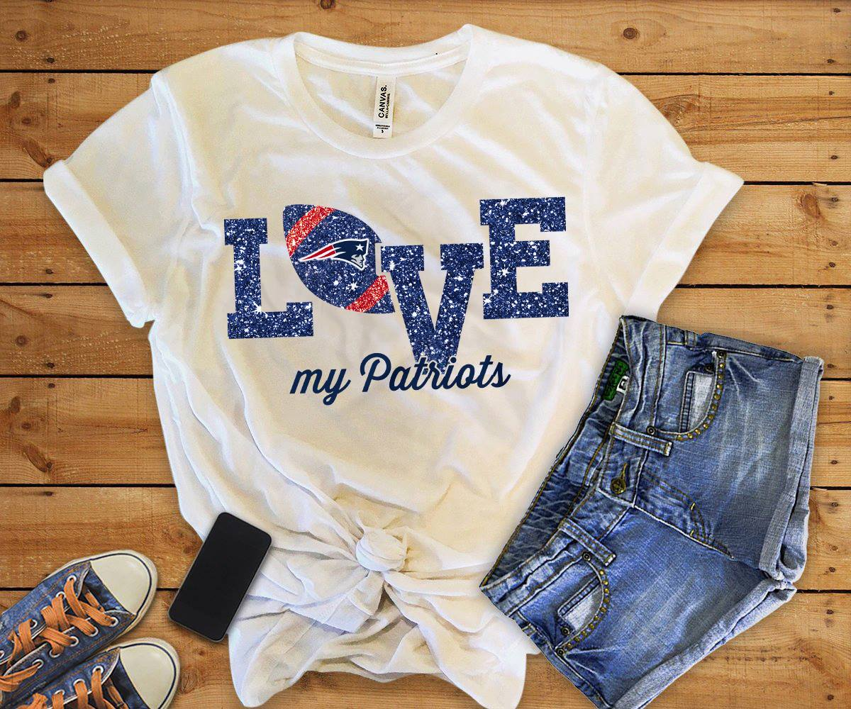 love my patriots tee