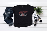 hamilton cheer mom dolman tee