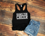 hamilton huskies cheer tank