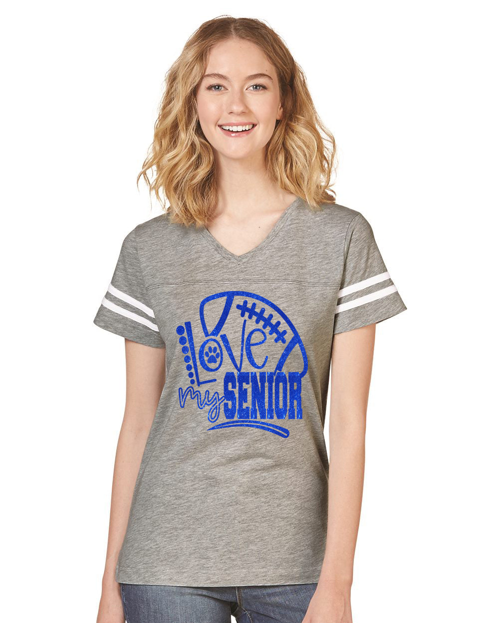 i love my senior tee