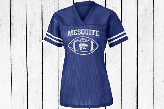 mesquite football jersey