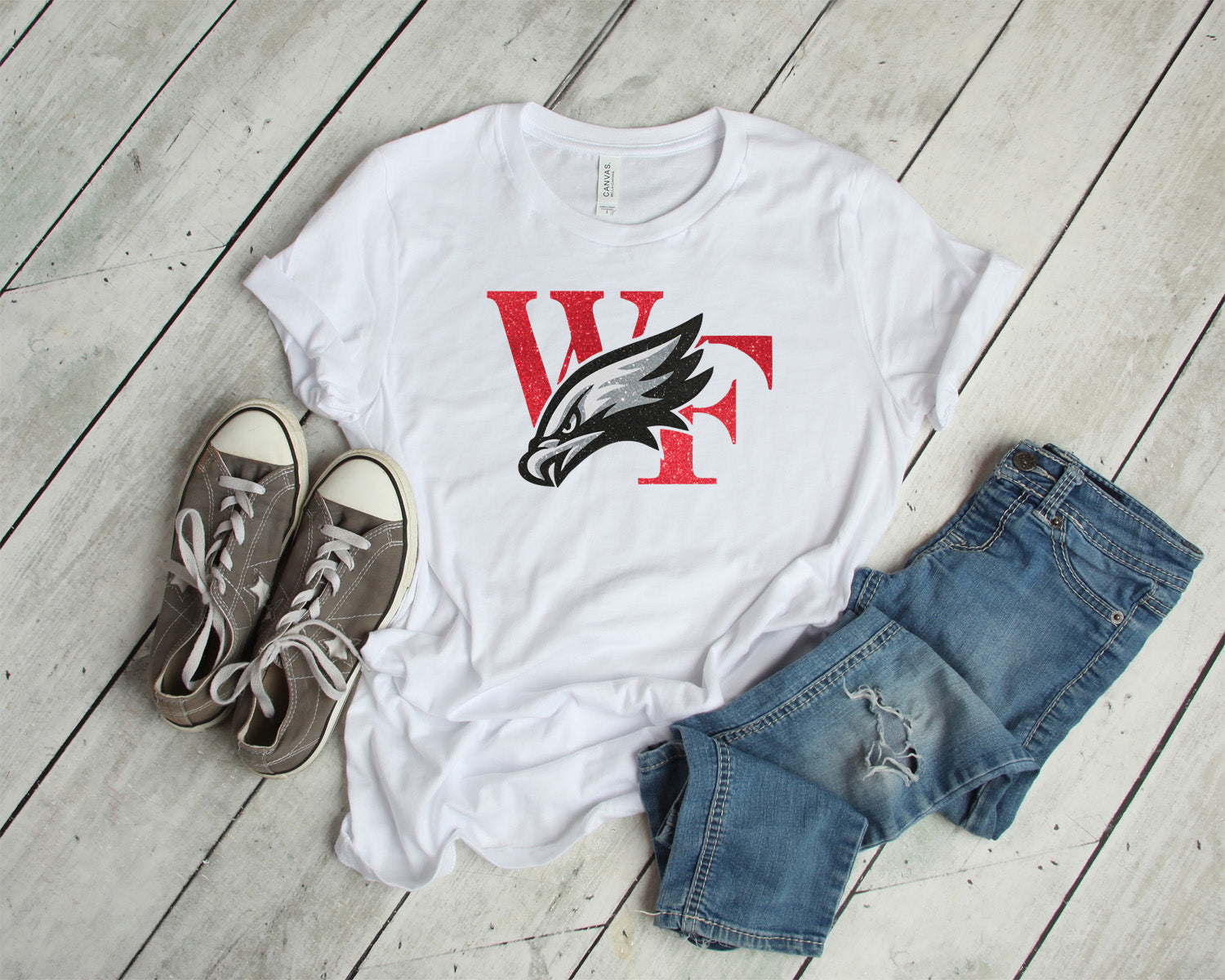 williams field hawks tee